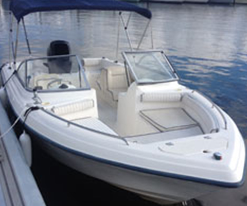 21 Dual Console Boat
