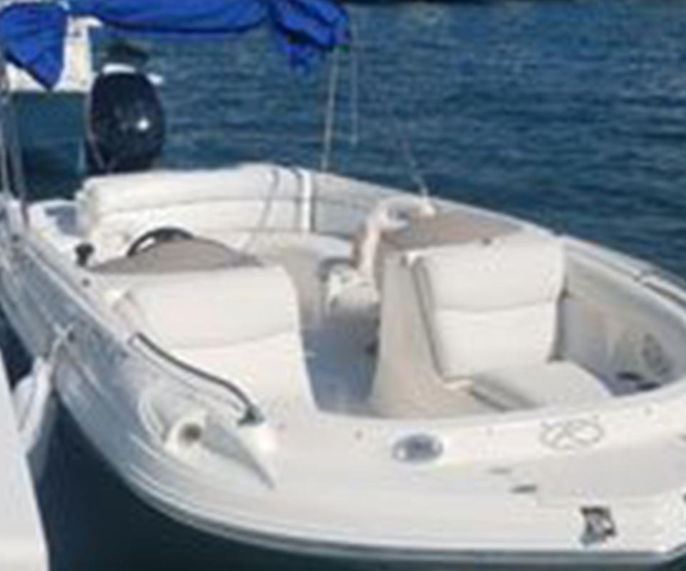 23' Deck Boat