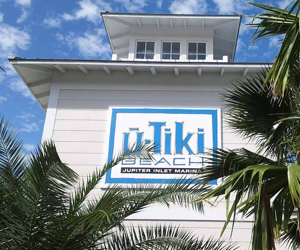 U Tiki Beach Restaurant Jupiter Florida