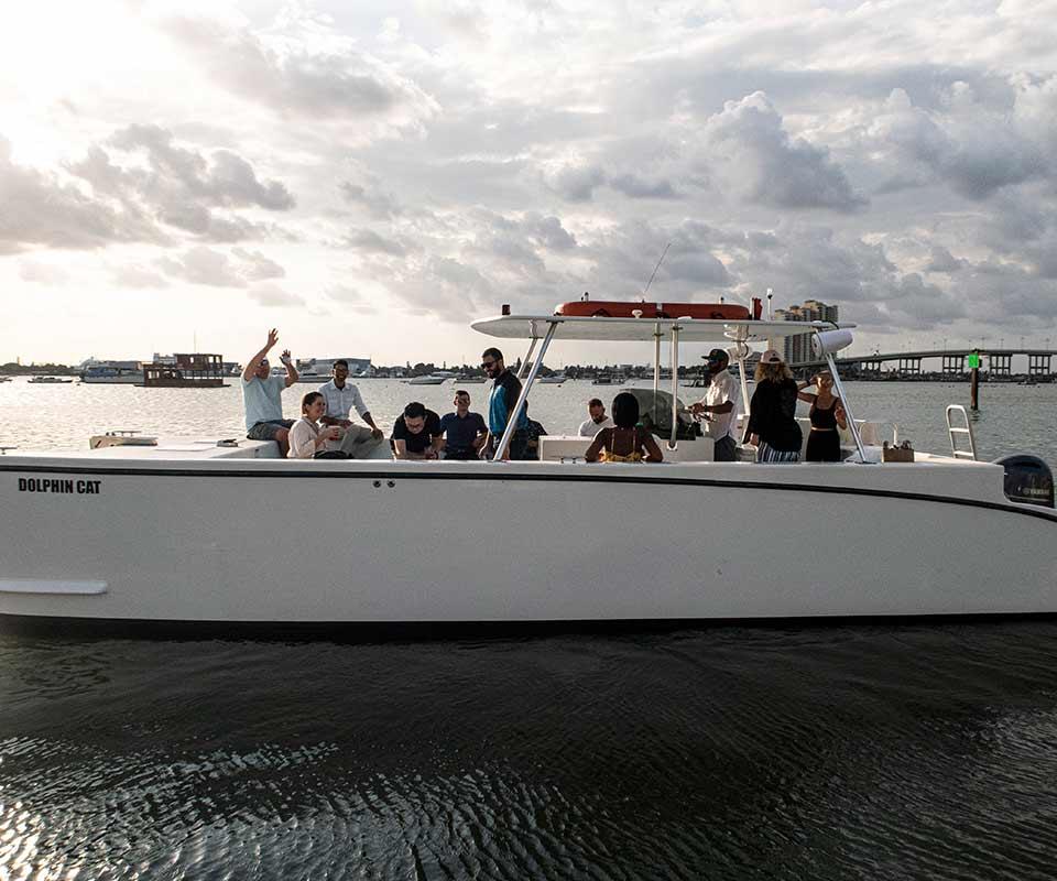 Get Wet Watersports Catamaran