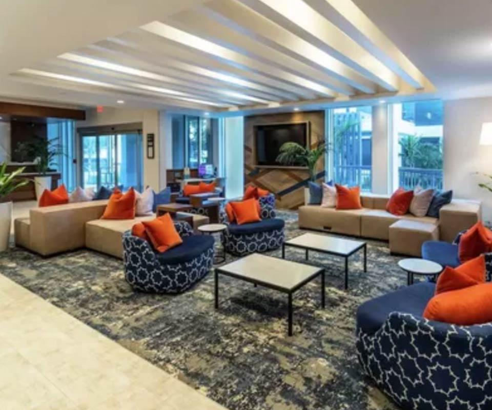Hilton Garden Inn Lobby