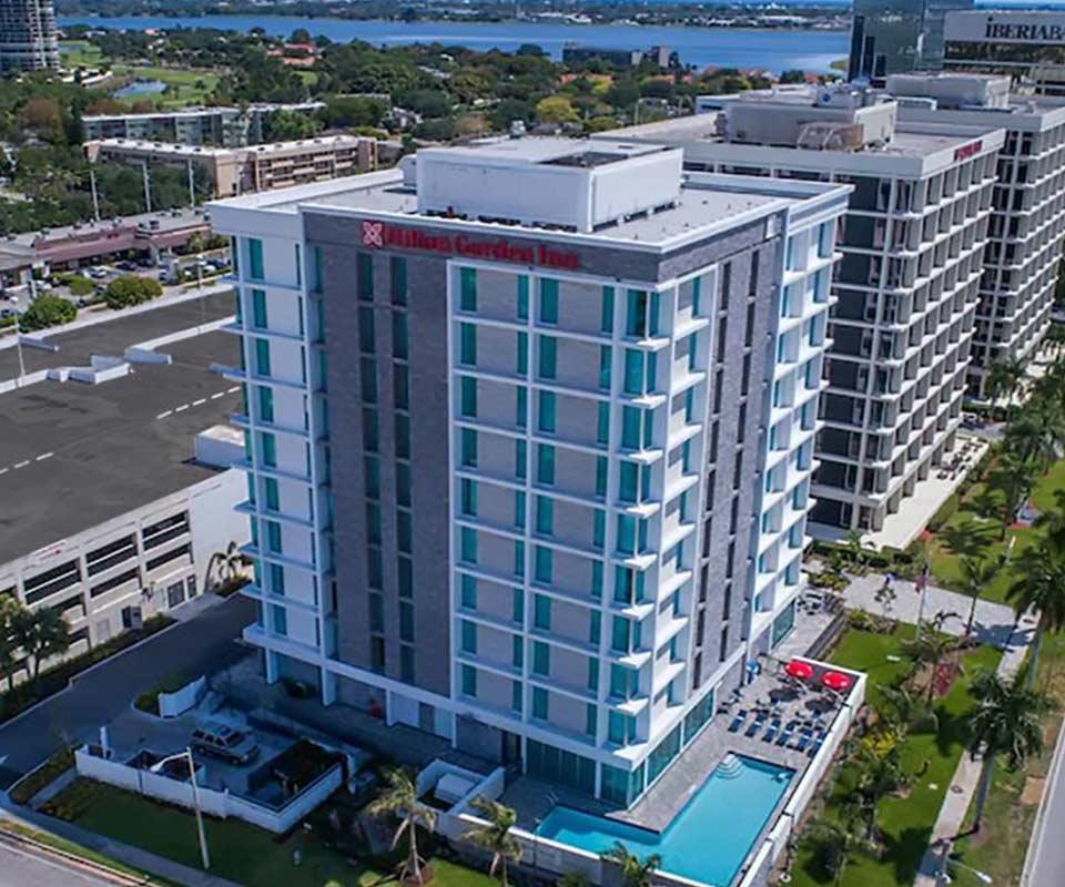 Hilton Garden Inn West Palm Beach I95 Outlets Exterior