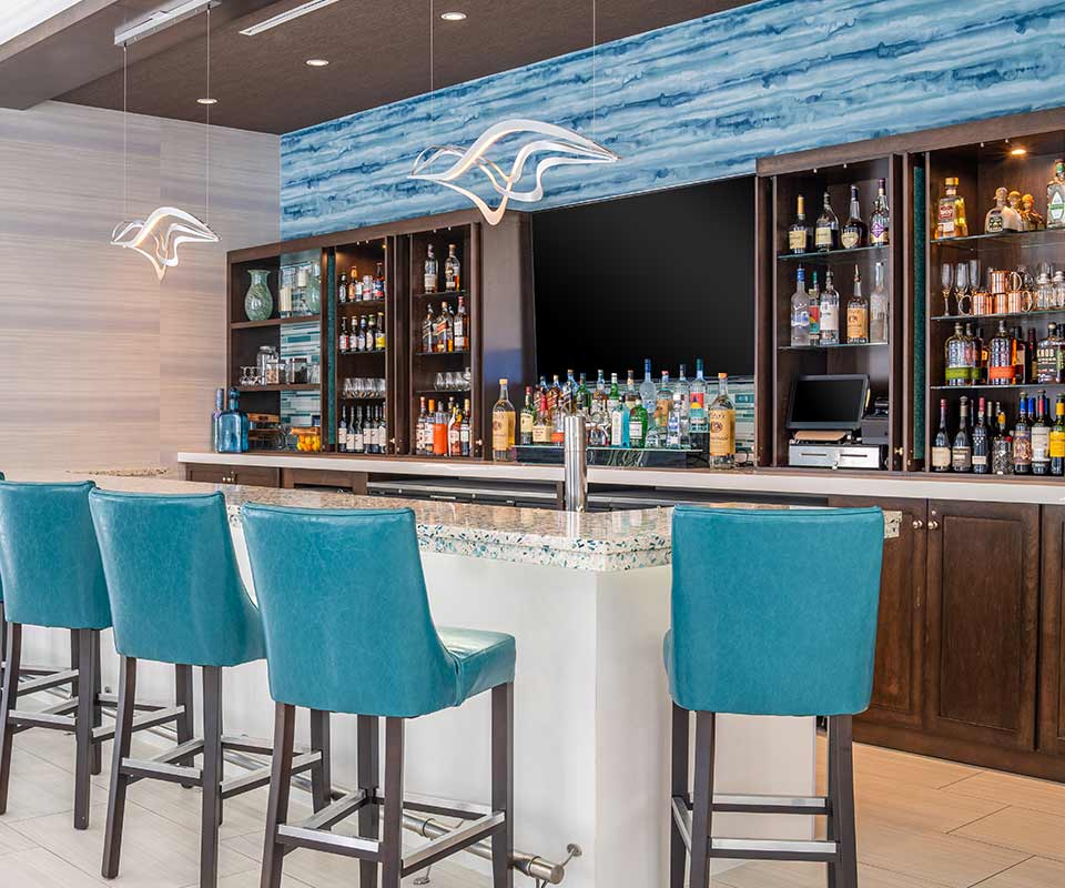 Hyatt Place Downtown West Palm Beach Bar