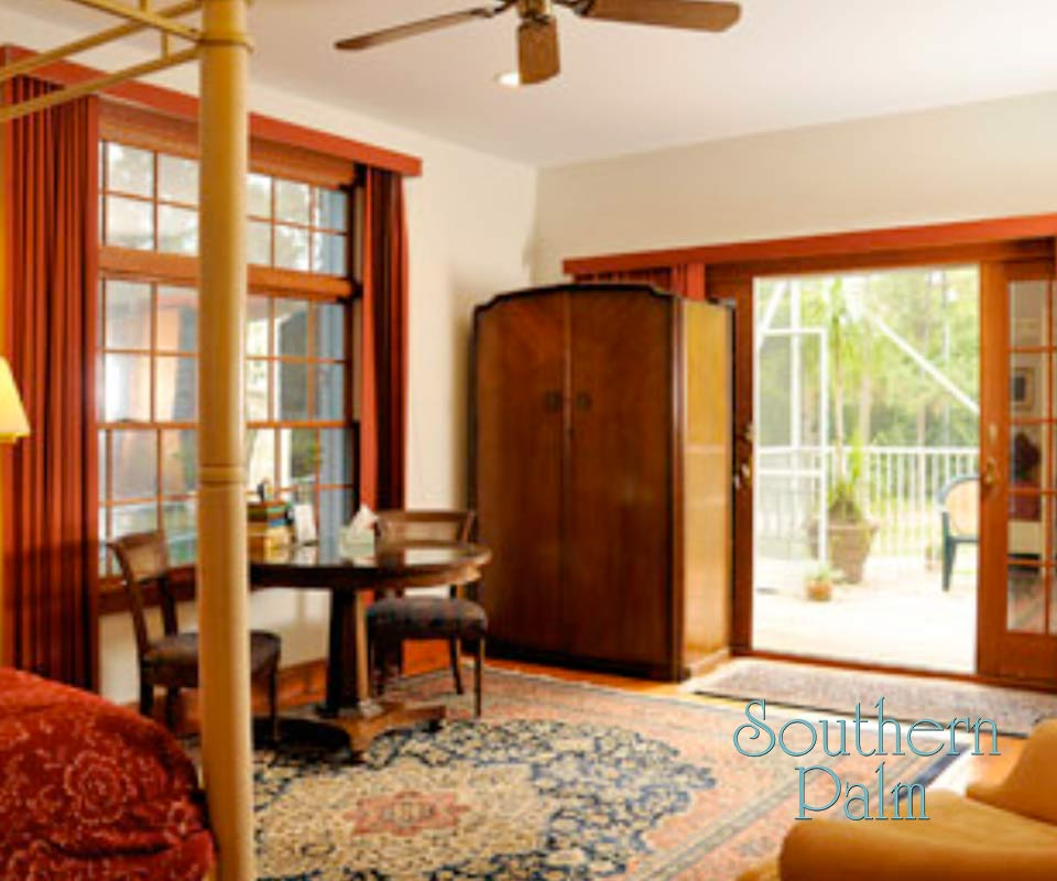 Southern Palm Bed & Breakfast Room