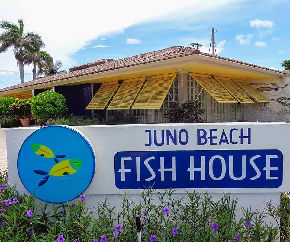 Juno Beach Fish House exterior