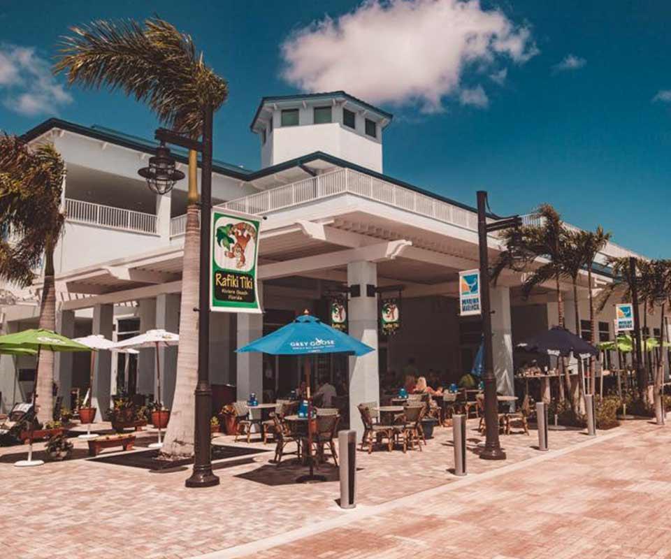 Rafiki Tiki Bar & Grill Exterior